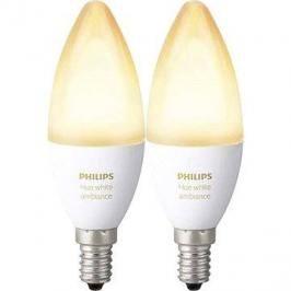 Philips Hue White Ambiance 6W E14 set 2ks LED žárovky
