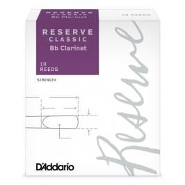 Rico DCT1020 Reserve Classic - Bb Clarinet Reeds 2.0 - 10 Box
