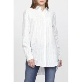 Košile GANT O2. STRIPED LONG LINEN SHIRT