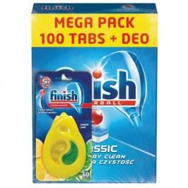 Tablety do myčky FINISH Classic Regular 100ks + DEO Lemon