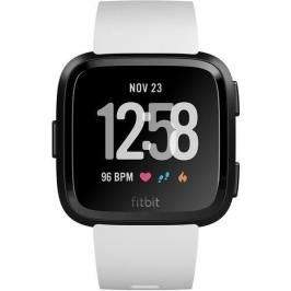 Fitbit Versa (NFC) - White Band / Black Case (FB505GMWT-EU)