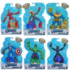 Hasbro E7377 - Avengers figurka Bend and Flex
